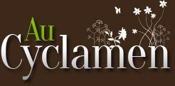 Vente de fleurs, bouquet et composition florale à Châteaulin et livraison 29 - AU CYCLAMEN (Accueil)